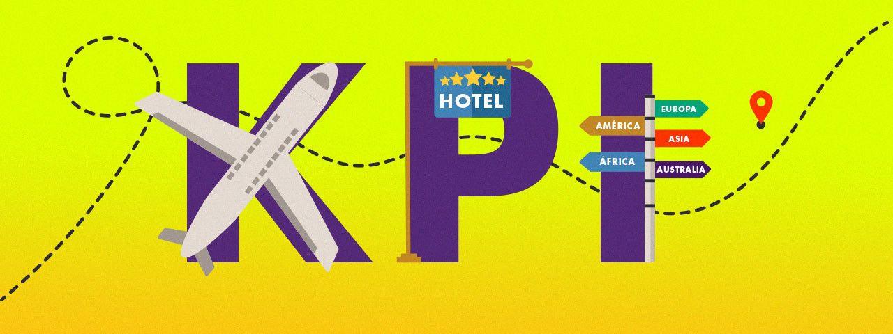 Define las KPIs en el sector viajes