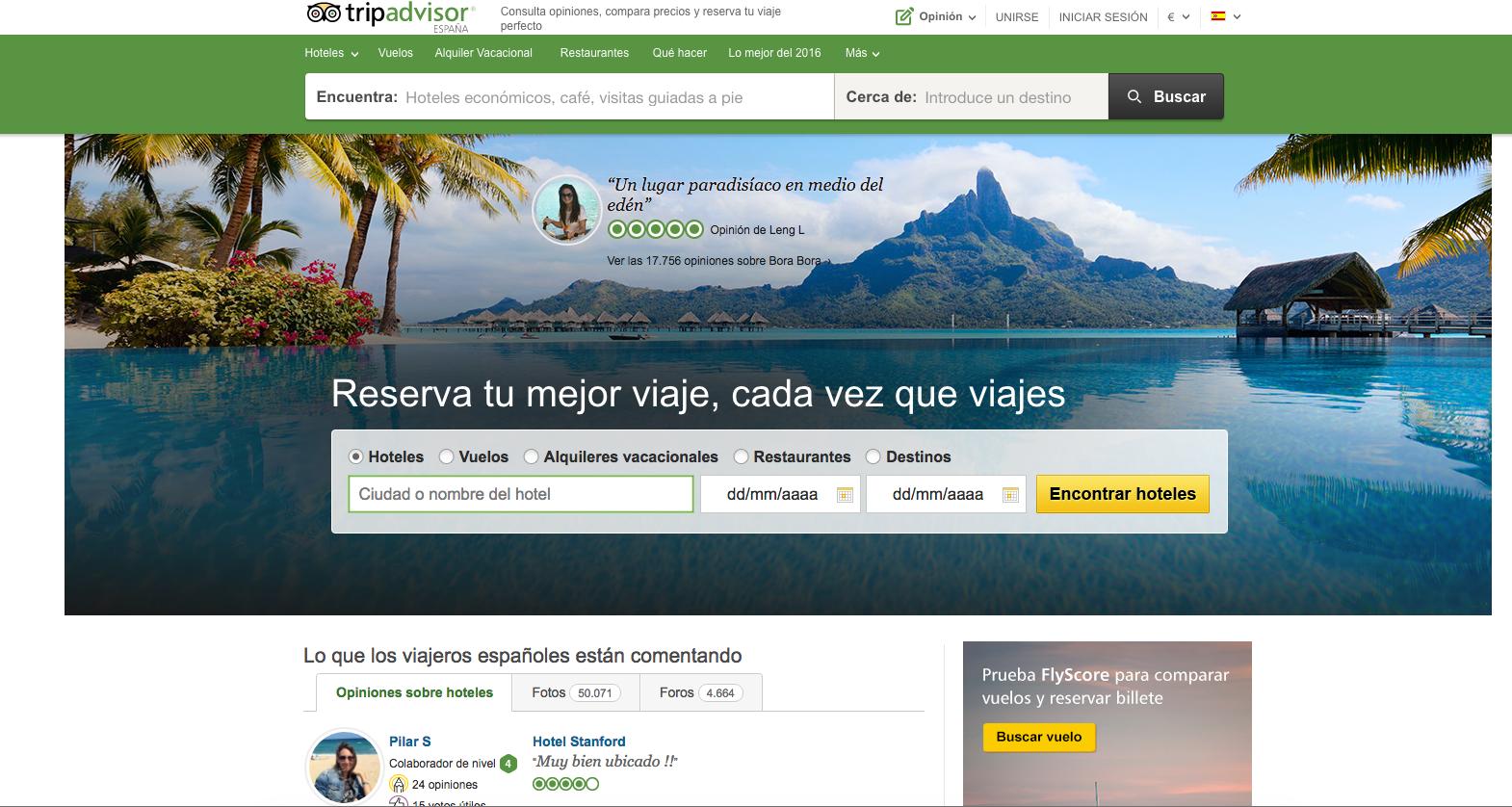 Home Tripadvisor España