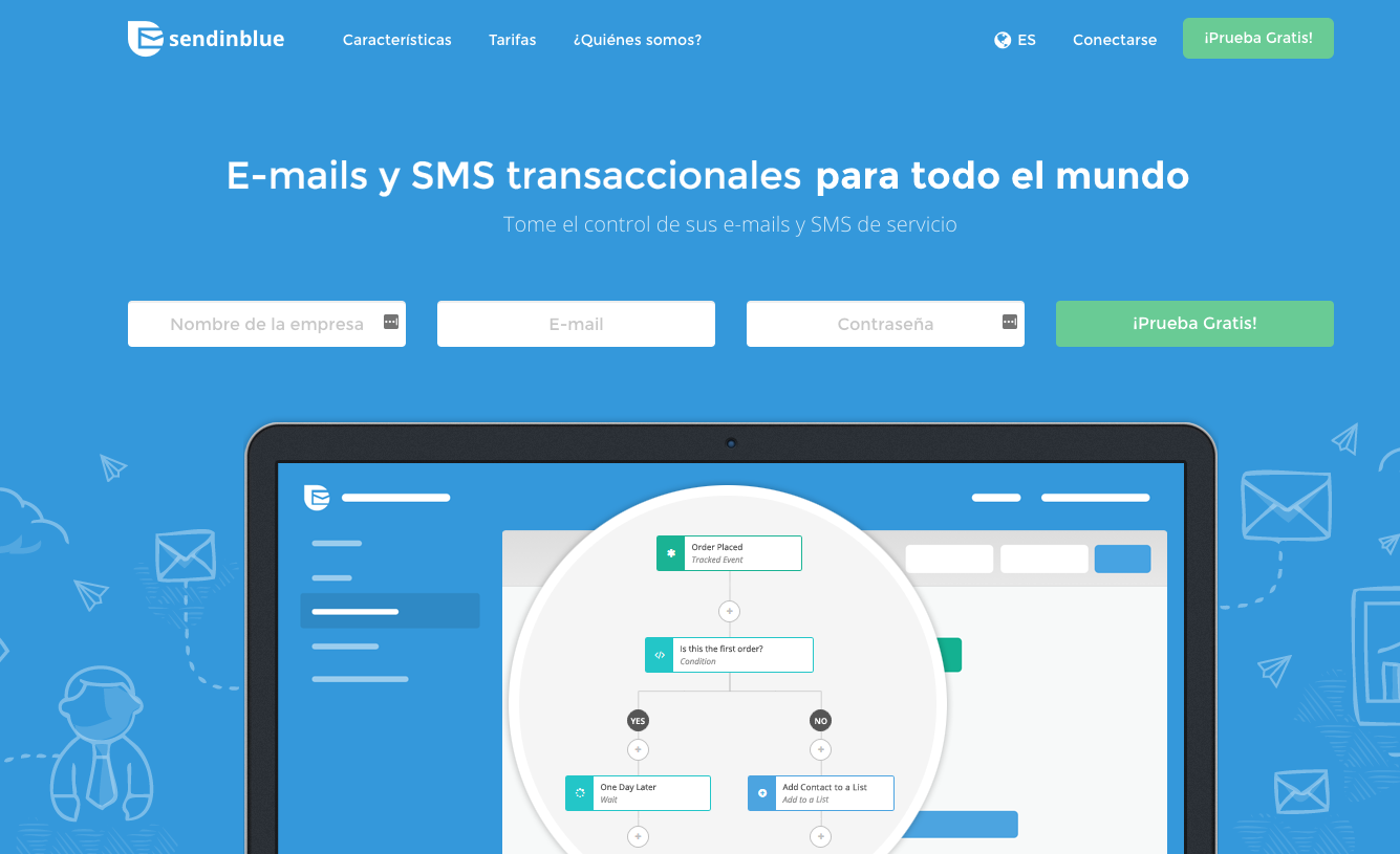 Sendinblue herramientas de marketing digital