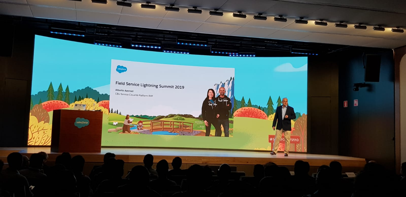 evento Salesforce field service