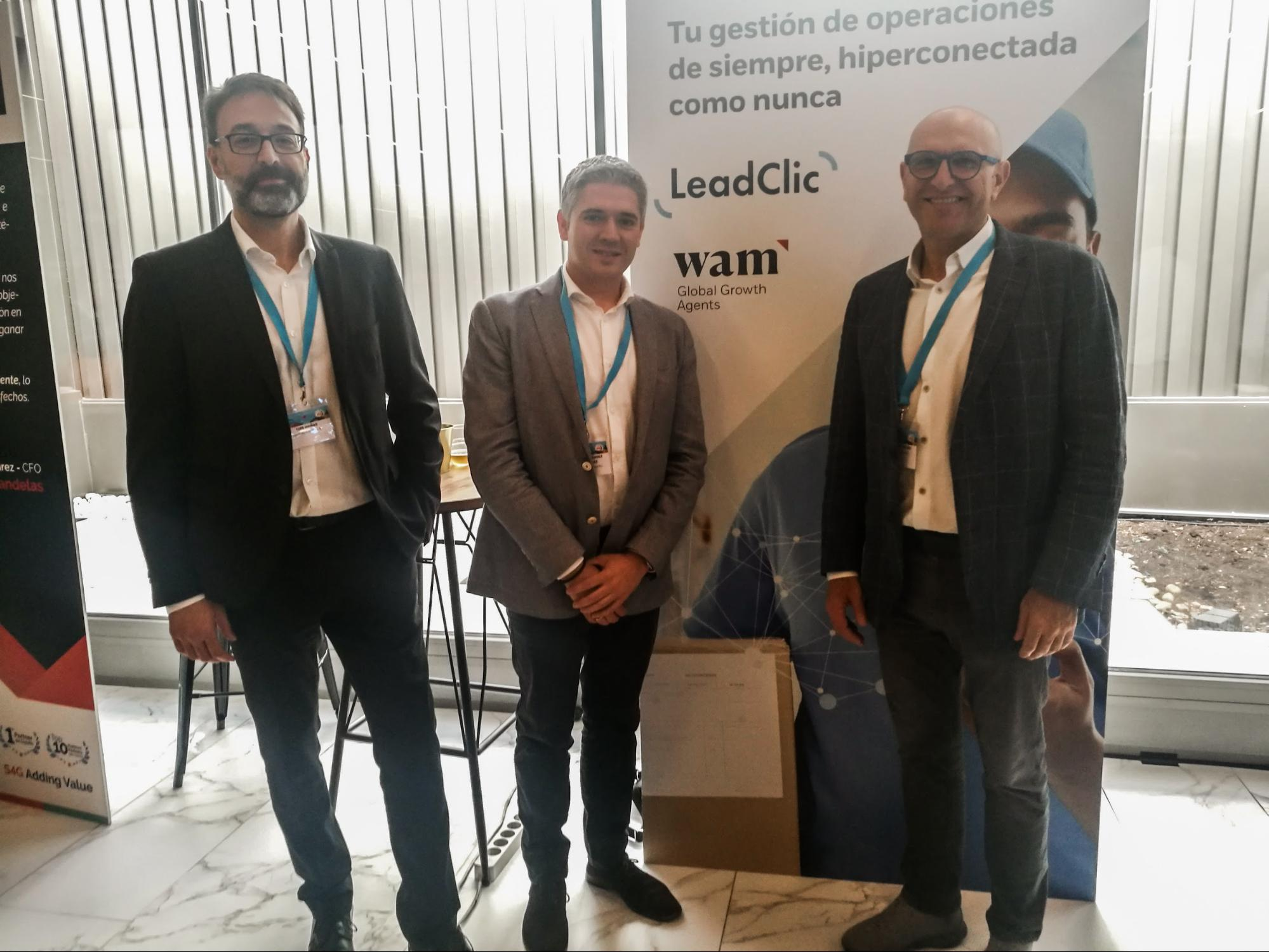 WAM y LeadClic en evento Salesforce