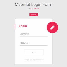 jquery login form